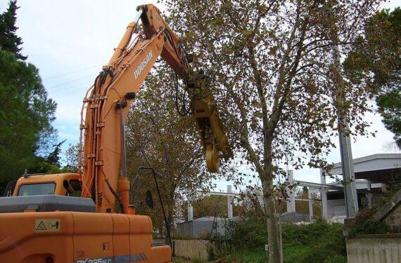 Гидроножницы для резки дерева серии MW