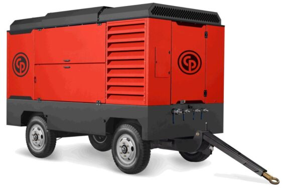 Электрический передвижной компрессор Chicago Pneumatic CPS 500 Е-10