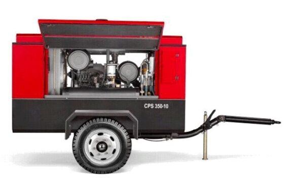Электрический передвижной компрессор CPS 350 Е-10