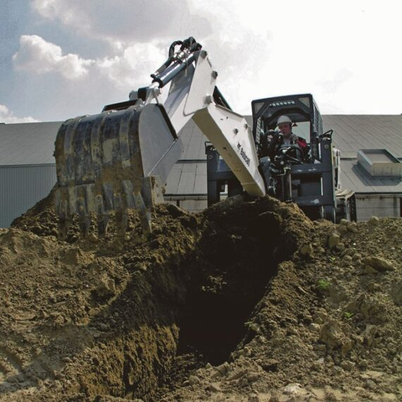 Обратная лопата Bobcat