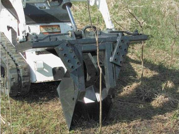 Ковш для рытья траншей, корчеватель Bobcat
