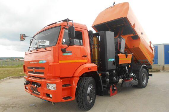 Bucher Cityfant 6/6000 на «газовых» шасси
