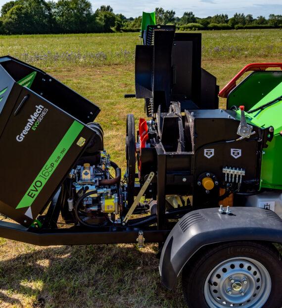 Greenmech Измельчители GreenMech  EVO 165D и EVO 165P