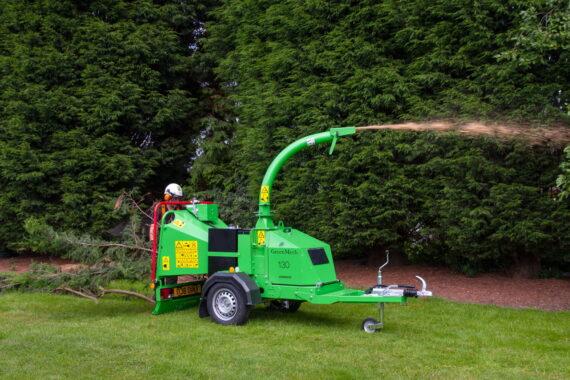 Измельчитель веток Greenmech Arborist 130