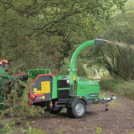 Измельчитель веток Greenmech Arborist 200