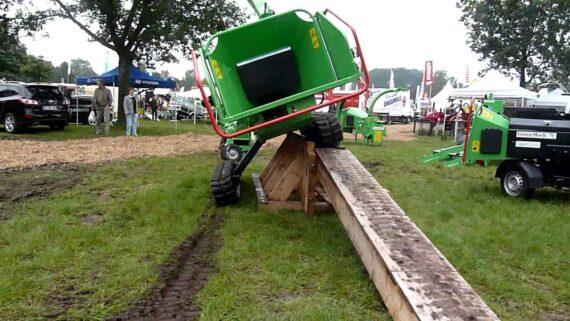 Измельчитель веток Greenmech Safe Truck 19-28